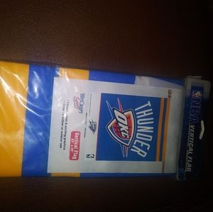 Thunder OKC nba vertical flag